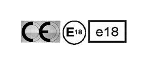 Illustration af CE-mærke